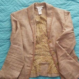 Linen blazer size 8